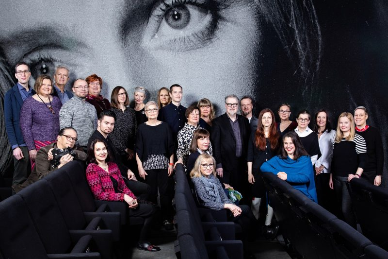 Elokuvasäätiön henkilökunta 2019