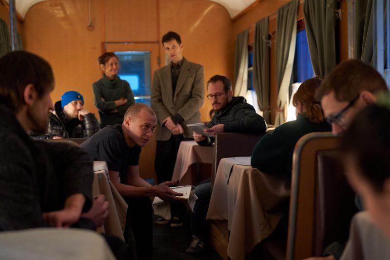 Making of Compartment No 6, photo by Sami Kuokkanen / Aamu Film Company