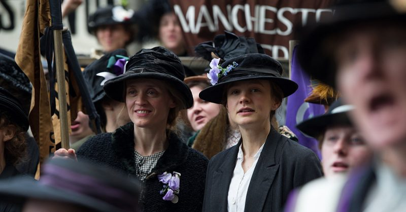 Still image from the film Suffragette