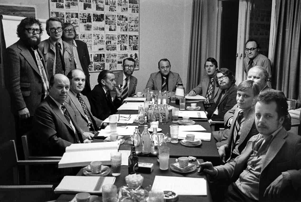 Elokuvasäätiön hallitus 1977