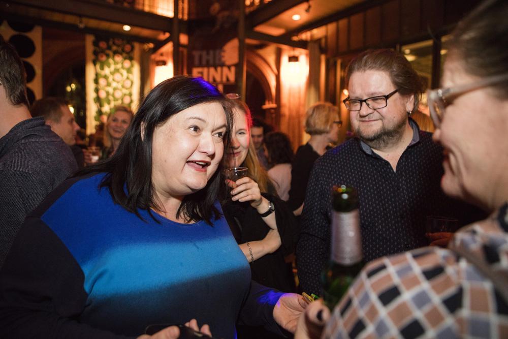 Irina Krohn Berlinalen elokuvajuhlilla 2016, kuva: Lasse Lecklin