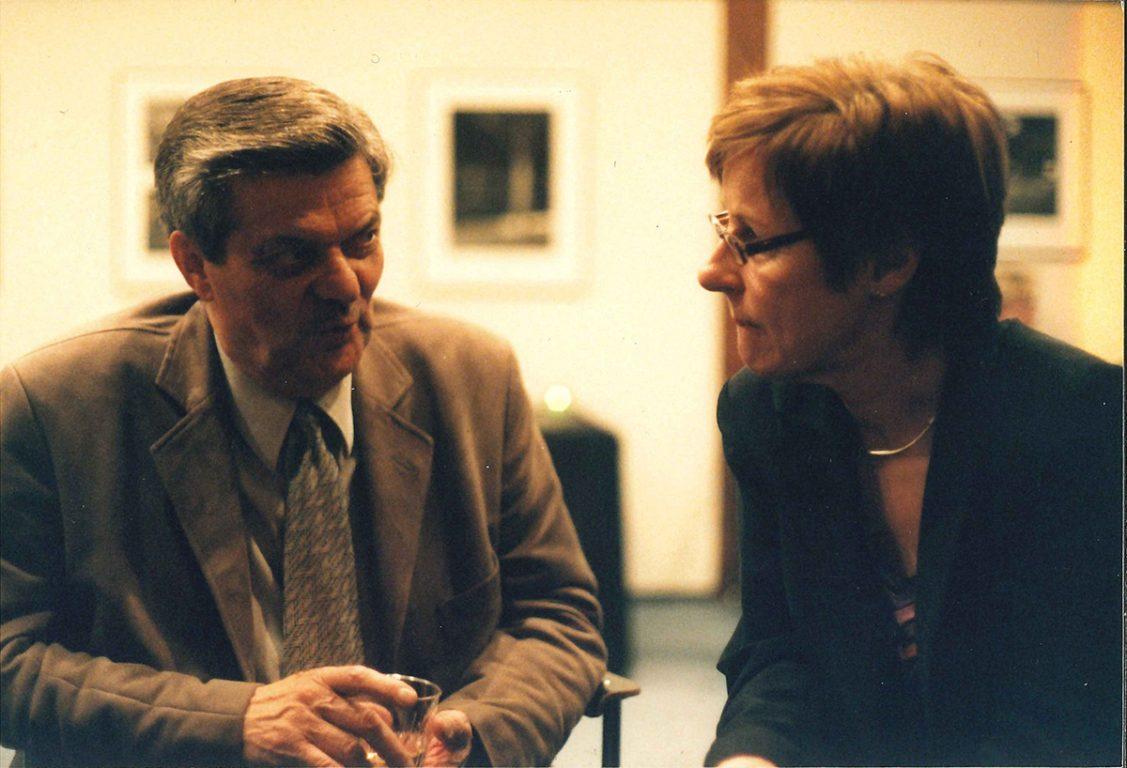 Jouni Mykkänen ja Pirkko Kari elokuvavuoden avajaisissa 2005