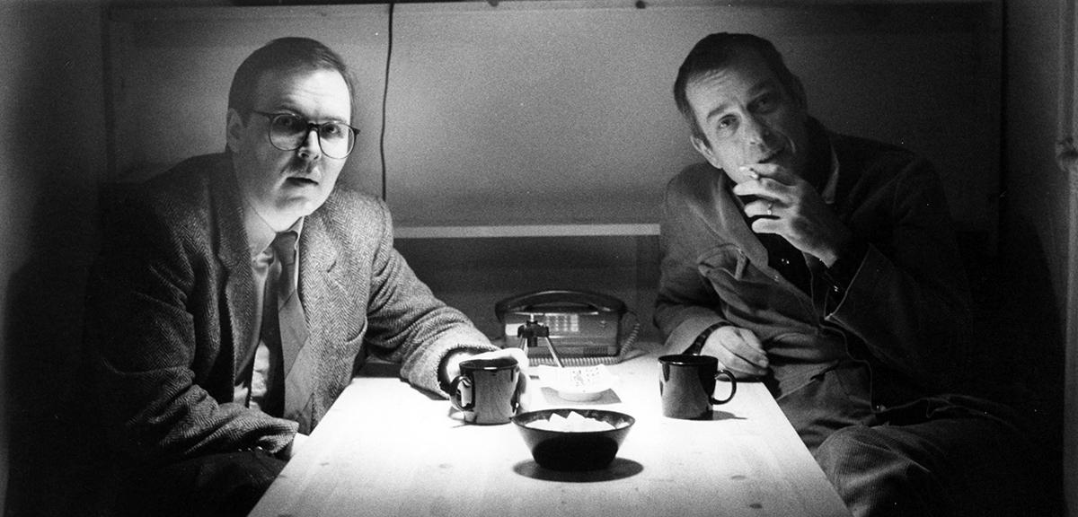 Jukka Vilhunen ja Jörn Donner
